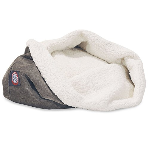 17 inch Villa Vintage Burrow Cat Bed
