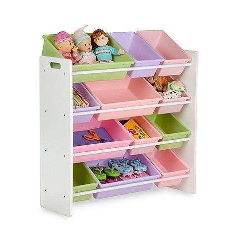 y Organizer and Storage Bins in Pastel (Pastel Bins)