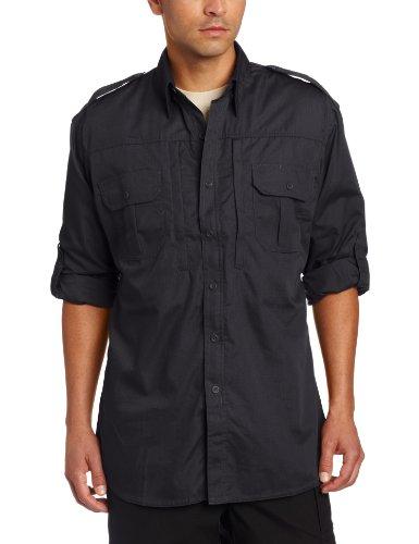 Propper Men's Long Sleeve Tactical Shirt - Large - Charcoal Grey