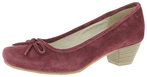 Hirschkogel By Andrea Conti Damen 3003401 Pumps Rot (bordo)