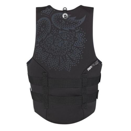 New BRP Sea-Doo Women's Ecoprene Airflow PFD Life Vest Jacket-Adult X Large-Black