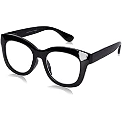 Peepers Women's Center Stage 2302200 Oval Reading Glasses, black, 2