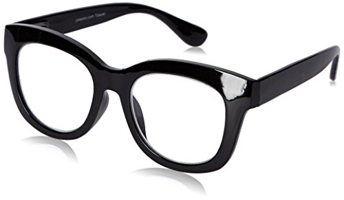 Peepers Women's Center Stage 2302200 Oval Reading Glasses, black, 2 ()