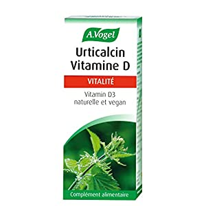 A. VOGEL – Urticalcin Vitamine D3 – Complément alimentaire à Base de Vitamine D3 100% naturelle – Actions Ciblées…