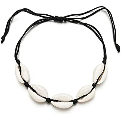 CXKBracelet Natural Stone Shell Starfish Bracelets Braided Adjustable Rope Chain Bracelet Anklet Wristband Handmade Holiday Beach Jewelry Estimated Price £15.99 -
