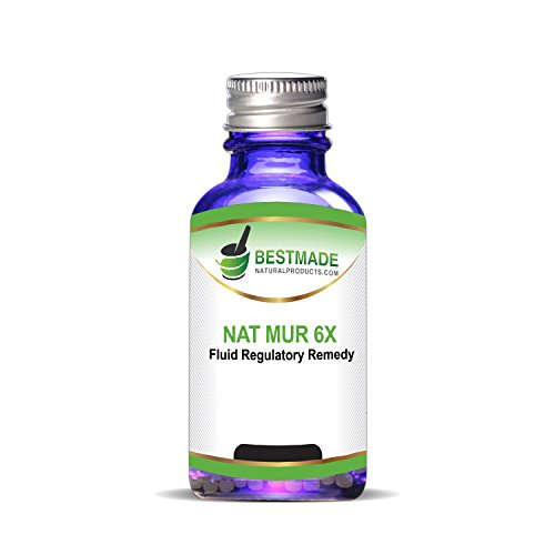 Nat Mur 6x- Natural Remedy Prepared to Clinical (Nat Mur Homeopathic)