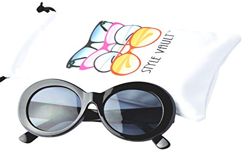 Kd3019 Baby infant Toddlers 0~36 months old Thick frame Oval round hiphop Sunglasses glasses ()
