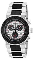 Invicta Mens Ocean Reef Swiss Chronograph Stainless Steel Bracelet Watch