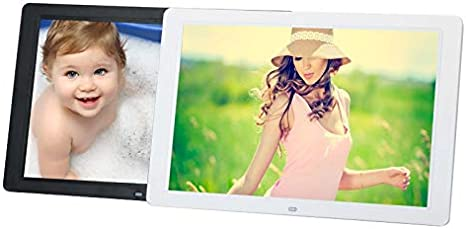 Lihuoxiu Consumer Electronics 15 inch 1280 x 800 16:9 LED Widescreen Suspensibility Digital Photo Frame with Holder /& Remote Control Support SD//MicroSD//MMC//MS//XD//USB Flash Disk Black