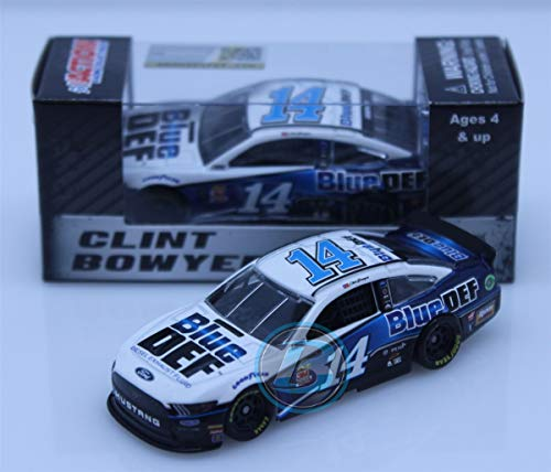 - Lionel Racing Clint Bowyer #14 Blue Def 2019 Ford Mustang NASCAR Diecast 1:64 Scale