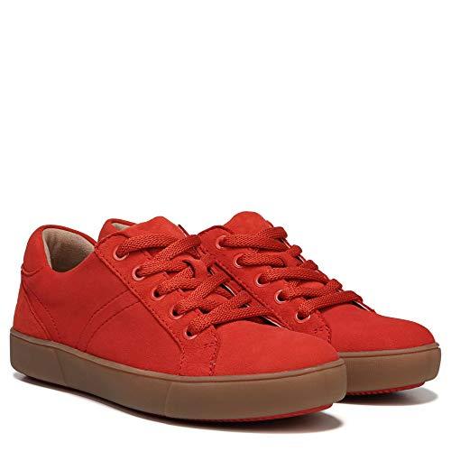 Naturalizer Women's Morrison Fashion Sneaker, Papaya Red,
