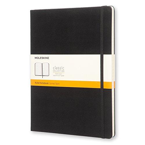 Moleskine Classic Notebook, Hard Cover, XL (7.5