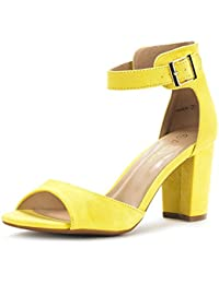 Amazon.com: Yellow - Pumps / Shoes: Clothing, Shoes & Jewelry
