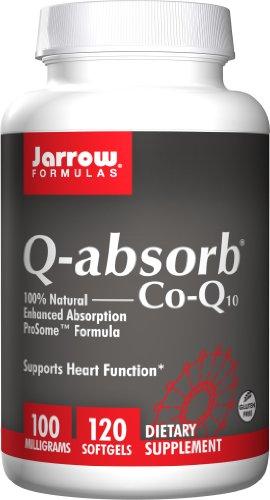 (Jarrow Formulas - Q-absorb Co-Q10, 100 mg, 120 Softgels)