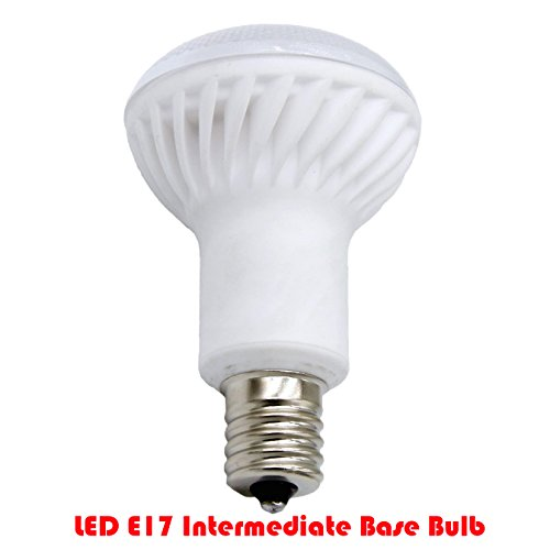 40w Flood - Ashialight LED E17 Bulb,Intermediate Base,Dimmable,Equal 40 watt bulb,2700k/Soft White/Warm White,indoor Flood Light Bulb for Ceiling Fan,IKEA Lamp and Cabinet.