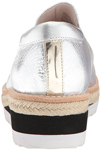 Kenneth Cole New York Women's Rainer Platform Slip on Espadrille with Sporty Outsole Oxford Silver view online official site cheap price outlet ebay ACR0l