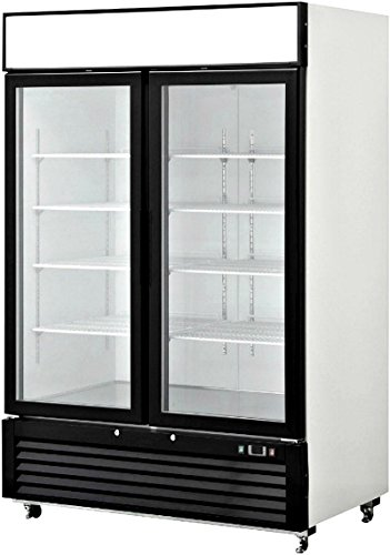 Refrigerator Double Showcase Commercial Restaurant