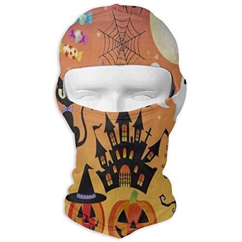Balaclava Halloween Sugar Skull Owl Cat Tree Ghost Full Face Masks Ski Motorcycle Neck Hood -