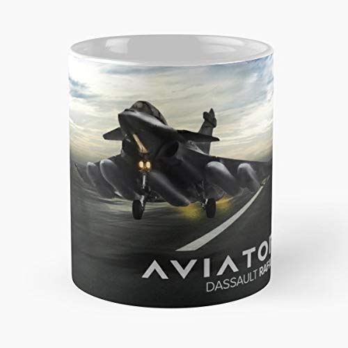 (Dassautl Rafale Gift Coffee/tea Ceramic Mug 11 Oz)