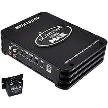 Lanzar Mini MAX 1800 Watt SMD Mono Block Amplifier, Mini Digital Amp