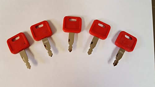 (5) Keyman John Deere Excavator Keys (John Deere Key)