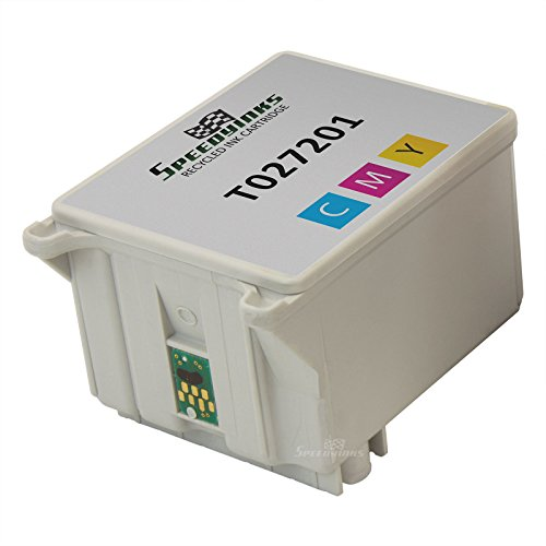 Speedy Inks - Remanufactured Color Ink for Epson T027201 for use in Epson Stylus Photo 820, Epson Stylus Photo 925, Epson Stylus Photo 810, Epson Stylus Photo 830, Epson Stylus Photo 830U, Epson Stylus Photo 935, Epson Stylus Photo C50