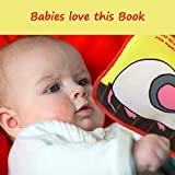 ToBe ReadyForLife Cloth Book Baby Gift, Soft Books for Newborn Babies, 1 Year Old & Toddler, Educational Toy for Boy & Girl, Touch and Feel Activity, Crinkle Peekaboo, Baby Shower Box