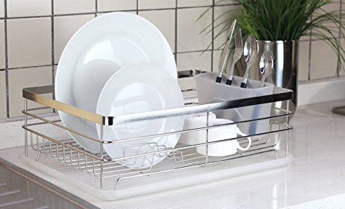 Stylish Sturdy Stainless Steel Metal Wire Medium Dish