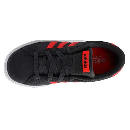 Pictures of adidas Kids' Daily Team Sneaker BC0155 Grey/Red 3