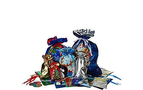 Kris Kringle Christmas - Gift Mate 74-Piece Gift Bag Set