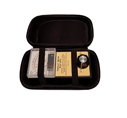 Trifield 60hz 100xe Meter With Black EVA Carrying Case by EMR Shielding Solutions