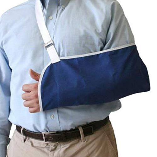 Rolyan Pouch Arm Sling, Adjustable Lightweight Ergonomic Fixed Position Shoulder and Arm Sling for Relaxed Resting Stabilization, Maximum Comfort for Short-Term and Long-Term Use for Arm or Cast