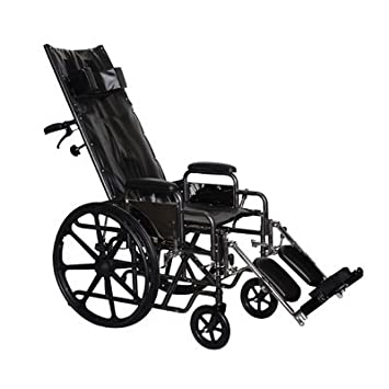 Full Reclining Wheelchair Seat Size: 20 by ProBasics