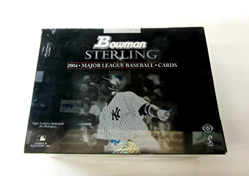 2004 Bowman Sterling Baseball - 2004 Bowman Sterling Baseball Box (Hobby)