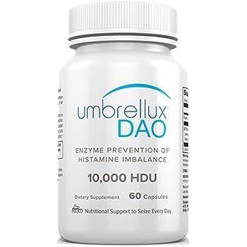 DIEM Labs Umbrellux Dao 10,000 Hdu 60 Veg Caps