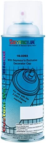 SeymourのSycamore 163393水ブレンドSpray Can For No Clean Fillマシン、12oz。 12 16-3393