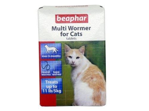 (12 Pack) Beaphar Multiwormer Cat 12's