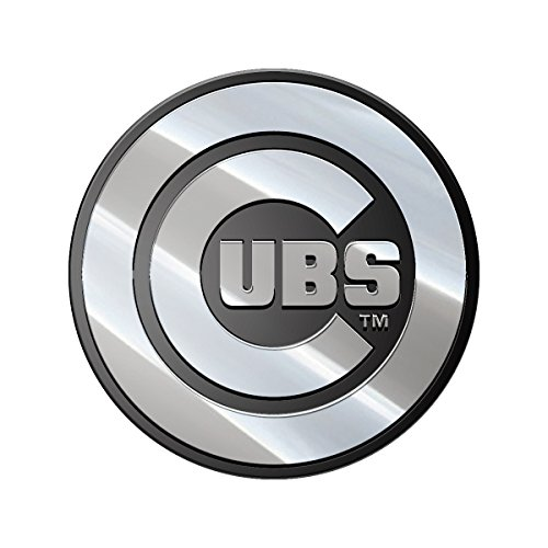 MLB Chicago White Sox Metal Emblem, One Size, One Color Chicago White Sox Car