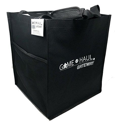 Top Shelf Fun Game Haul: Gateway Board Game Carrying Tote w/ Padded Handle, Side Pocket, and Gateway View by Top Shelf Fun