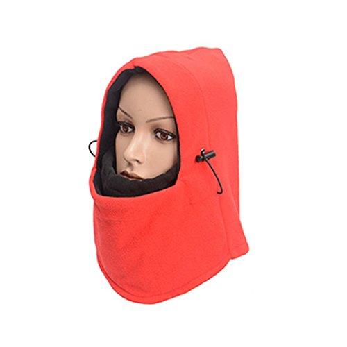 - Exteren Windproof Ski Full Face Mask Motorcycle Bicycle Neck Warmer Balaclava Hood for Men Women Cycling Hat Outdoors Sport Helmet (E)
