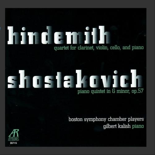 Players Chamber (Hindemith: Quartet for Clarinet, Violin, Cello and Piano / Shostakovich: Piano Quintet in G Minor)