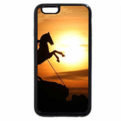 iPhone 6S / iPhone 6 Case (Black) Warrior on horse