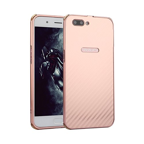 Happon Case for Oppo R11, Durable Protective Girls Slim Fit Shell Back Anti-Scratch Case Phone Cover Oppo R11 Rose Gold