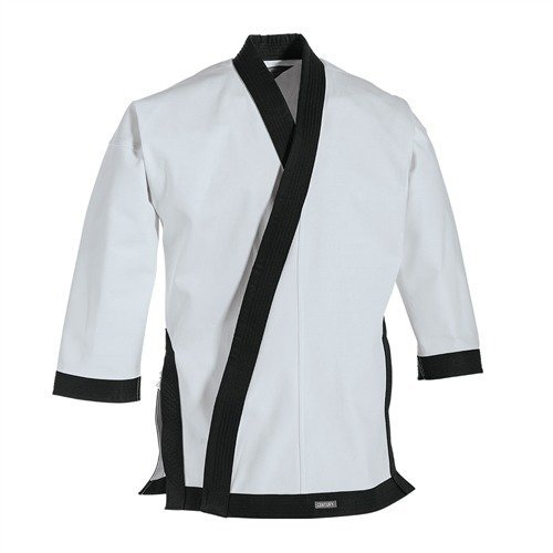 Century 12 oz. Traditional Tang Soo Do Jacket with Cuffs Navy Blue size 5