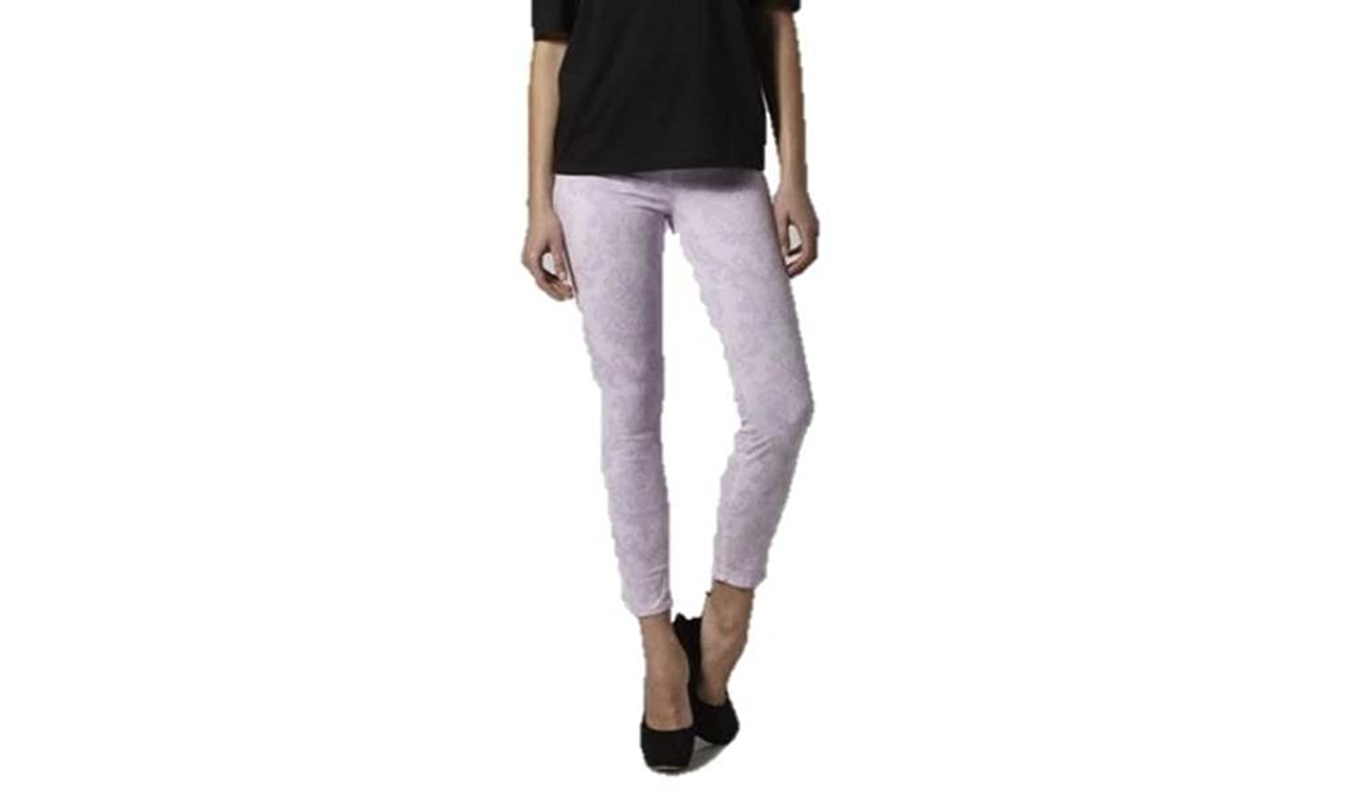 J Brand Women's 835 Cropped Baroque Floral Jeans, 27