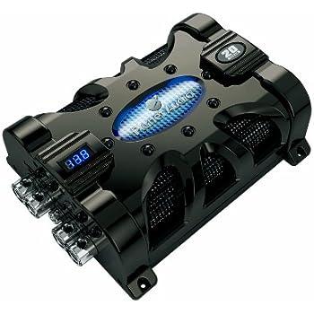 amazon com planet audio pc20f 20 farad car capacitor for energy Car Audio System Wiring Diagram Power Capacitor Wiring planet audio capacitor wiring