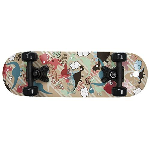 'Area Skateboard pour enfant Dino Garden, 20/pour garçons et filles À partir de 3ans/env. 51x 15CM