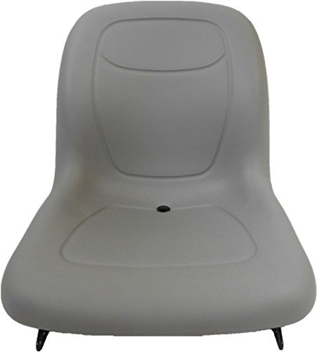 NEW GRAY SEAT MASSEY FERGUSON 1230,1240,1250,AGCO,CHALLENGER COMPACT TRACTOR #AA by Milsco