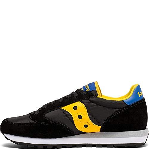 Man Saucony da ginnastica Scarpe Jazz giallo blu nero Original Vintage blu di THxUBZ7