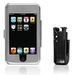 Cta Digital Hard Case For Ipod Touch 1g (Silver)